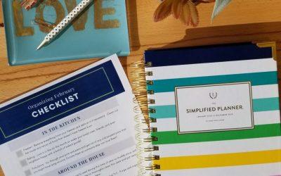 Organizing February
