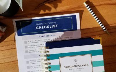 Organizing January