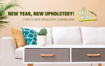 New Year, New Upholstery! 5 Tips to Keep Upholstery Looking New