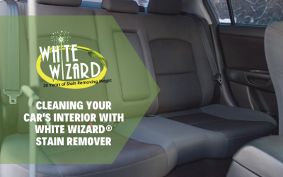 Cleaning Your Car's Interior with White Wizard® Stain Remover