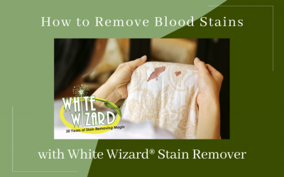 How to Remove Blood Stains with White Wizard® Stain Remover