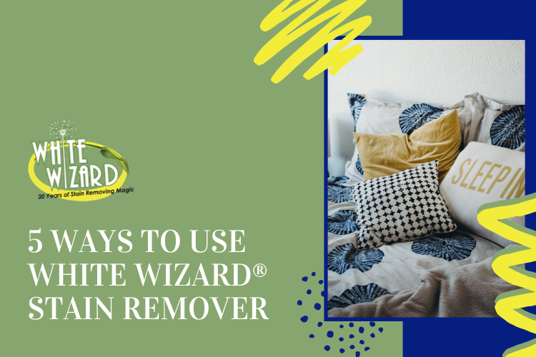 how to use white wizard stain remover