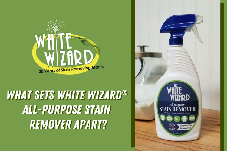 What Sets White Wizard® All-Purpose Stain Remover Apart?