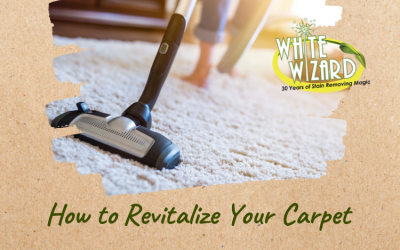 How to Revitalize Your Carpet White Wizard Stain Remover