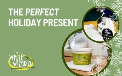The Perfect Holiday Present from White Wizard® All-Purpose Stain Remover