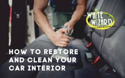 How to Restore and Clean Your Car Interior