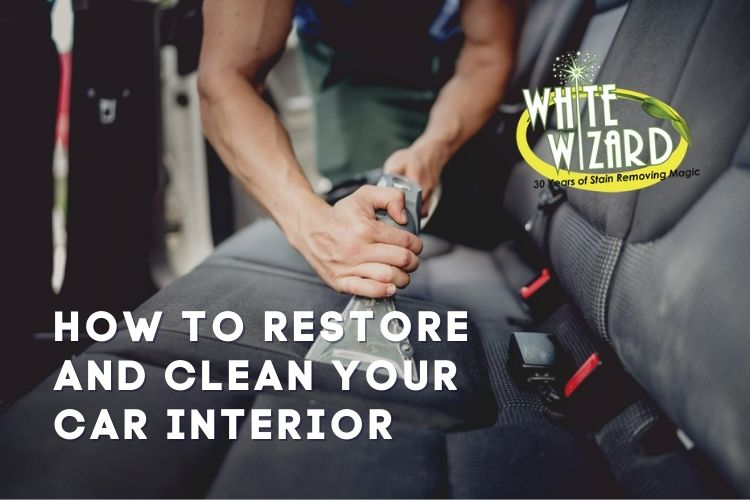 car cleaner, clean car interior, upholstery, safe stain remover, restore car interior, all purpose stain remover