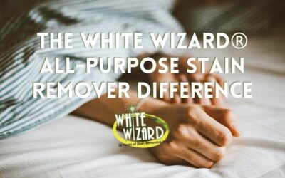 The White Wizard® All-Purpose Stain Remover Difference